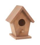 mycket liten birdhouse royaltyfri bild