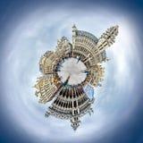 Mycket liten planet Bryssel för storslaget ställe Arkivfoto