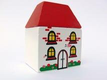 mycket liten toy för hus royaltyfri bild