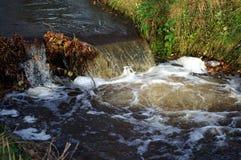 mycket liten vattenfall Arkivbilder