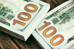 mycket pengar Fotografering för Bildbyråer