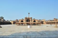 Mycket - sikt av Jama Masjid, Ahmedabad royaltyfri foto