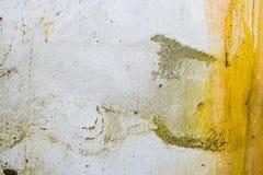 Mycket smutsig och decpmposed vägg Abstrakt målningbakgrundstextur av förfall och dekis royaltyfria foton