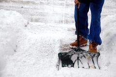 mycket snow för Royaltyfri Bild