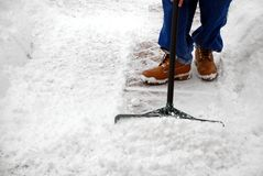 mycket snow för Fotografering för Bildbyråer