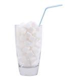 mycket socker för Arkivfoton