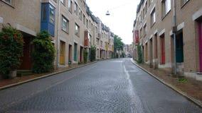mycket trevlig gata från Tyskland Royaltyfri Foto