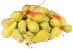 mycket vita pears Royaltyfri Fotografi