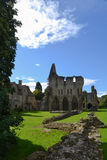 Mycket Wenlock Priory i Shropshire, England Royaltyfri Foto