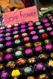 Mydło kwiaty handcrafted w Tajlandia Zdjęcia Royalty Free
