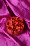 Mydlane róże Zdjęcia Stock