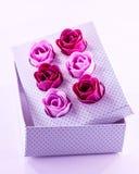 Mydlane róże Zdjęcia Royalty Free
