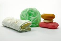 mydlany ręcznik obraz royalty free