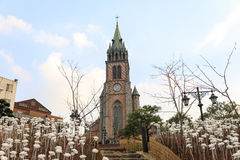 Myeongdong Cathedral Stock Images