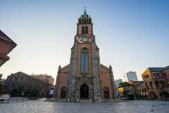 Myeongdong Cathedral In Seoul, South Korea Stock Photography