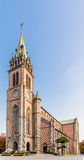 Myeongdong Cathedral in Seoul,South-Korea. The Cathedral Church of the Virgin Mary of the Immaculate Conception also known as Myeongdong Cathedral Stock Images