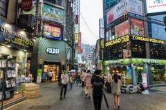 Myeongdong Stock Image