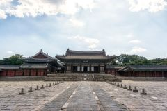Myeongjeongjeon Hall And Myeongjeongmun Gate Royalty Free Stock Images