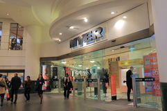 Myer百货商店购物的悉尼澳大利亚 免版税库存图片