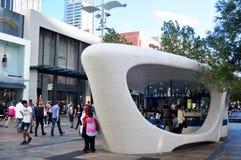 Myer City Store au ` de Perth s Forrest Chase à Perth, Australie photos libres de droits