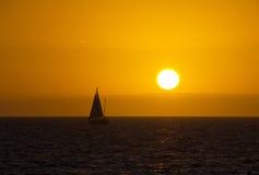 Myers Beach forte, tramonto Fotografia Stock Libera da Diritti