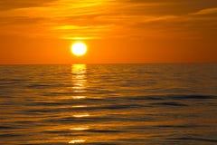 Myers Beach forte, tramonto Fotografie Stock Libere da Diritti