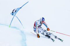 MYHRER Andre in Audi Fis Alpine Skiing World-Schale Men's riesiges S stockfotos