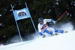 MYHRER Andre in Audi Fis Alpine Skiing World-Schale Men's riesiges S lizenzfreies stockfoto