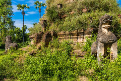 A Myint ruins city Monywa Myanmar Royalty Free Stock Photo