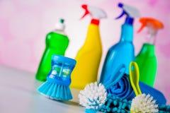 Myjący, czyści pojęcie Zdjęcie Royalty Free