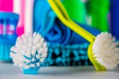 Myjący, czyści pojęcie Fotografia Royalty Free
