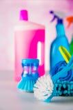 Myjący, czyści temat Obraz Royalty Free