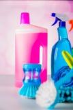 Myjący, czyści temat Zdjęcia Royalty Free
