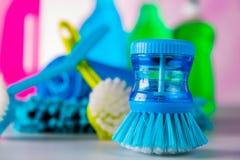 Myjący, czyści temat Zdjęcie Royalty Free