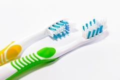 myje zęby Zdjęcie Stock