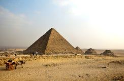 Mykerinos pyramid Royalty Free Stock Photo