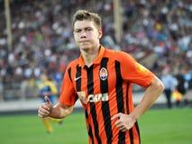 Mykola Matviyenko van FC Shakhtar Donetsk stock fotografie