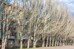 Mykolaivka,顿涅茨克州,乌克兰 15 03 2016年 免版税库存照片