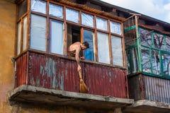 Mykolaivka, область Донецка, Украина 15 03 2016 Стоковые Изображения