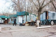 Mykolaivka, область Донецка, Украина 15 03 2016 Стоковое Фото