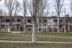 Mykolaivka, Ntone'tsk Oblast, Ουκρανία 15 03 2016 Στοκ Φωτογραφία
