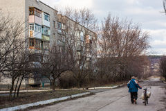 Mykolaivka, Ntone'tsk Oblast, Ουκρανία 15 03 2016 Στοκ Εικόνα