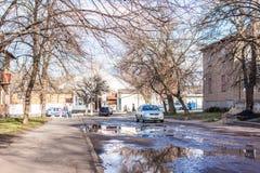 Mykolaivka, Ntone'tsk Oblast, Ουκρανία 15 03 2016 Στοκ Εικόνες
