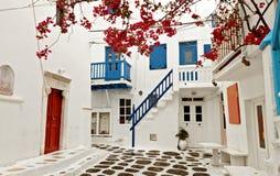 Mykonos海岛在希腊 免版税库存图片