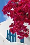 Mykonos海岛的传统房子 免版税库存图片