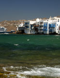 mykonos острова Греции Стоковые Изображения RF
