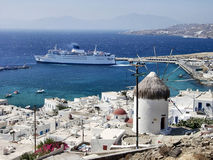 Mykonos Foto de Stock Royalty Free