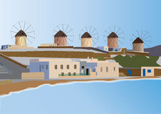 Mykonos Royalty Free Stock Image