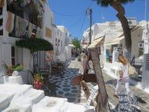 Mykonos Foto de Stock