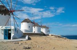 Mykonos Royaltyfri Fotografi